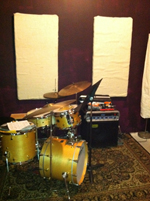 Lockout band rehearsal production recording room